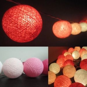 Other - Ball String lights - Patio, Party, indoors/outdoor